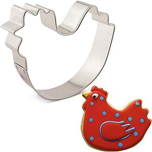 """Ann Clark Cookie Cutters Chicken Cookie Cutter, 3.75"""""""