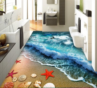 HAHAHA@ Große Größe 3D Teppich Sofa Tisch Wohnzimmer Teppich Teppich Nacht Tischdecke Küche Bad Fußmatte, 23.60 0 Mm X 900 Mm