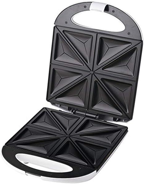 Opinión sobre GPWDSN Sandwich Toaster Maker Stick Relleno Profundo en Caliente sin Placas 4 rebanadas Prensa eléctrica para Parrilla Ideal para bocadillos de Queso Tostado 1200W Negro