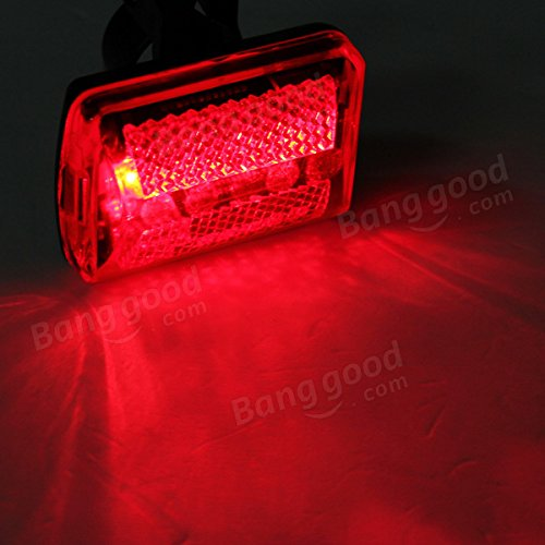 5 LED bike tail light bicycle red flash light rear lamp 7 mode by Freelance Shop SportingGoods (Image #3)