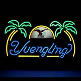 "HOT Eagle 17""x 14"" Yuengling Palm Tree Design Decorated Neon Light Signs for Home Shop Store Beer Bar Restaurant Billiards Shops Display Signboards"