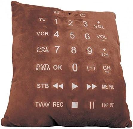 Remote Pillow Cojín con integrada de control remoto mando a distancia universal – Almohada Sofá Cojín televisor con mando a distancia universal integrada: Amazon.es: Jardín