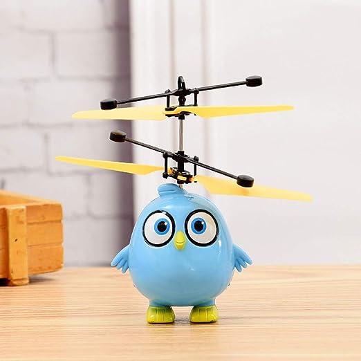 Daxoon Mini Drone para niños, LED Drone con pequeño pájaro ...