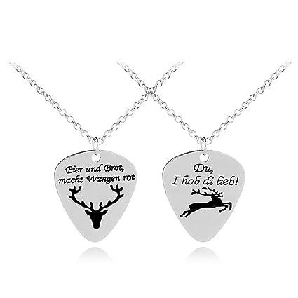 Amazon Elk Necklace For Lover Christmas Gifts Deer Antler