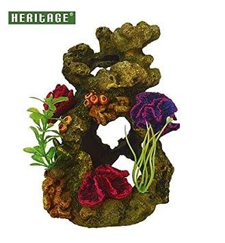 Heritage TB150 - Arrecife de coral decorativo para acuario sobre rocas, pintado a mano, compatible con Biorb 30/60: Amazon.es: Productos para mascotas