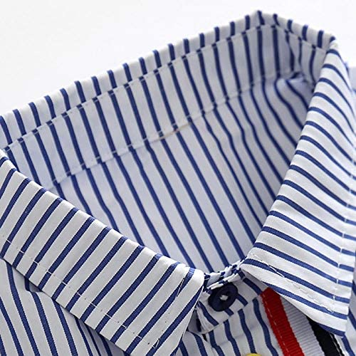 XINXINHAIHE Infant Kid Boy Summer Casual Outfit 2pcs Cartoon Shirt Top+Shorts Pants Set