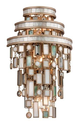 Transitional Corbett Lighting - Corbett Lighting 142-13 Dolcetti Three Light Wall Sconce, Silver