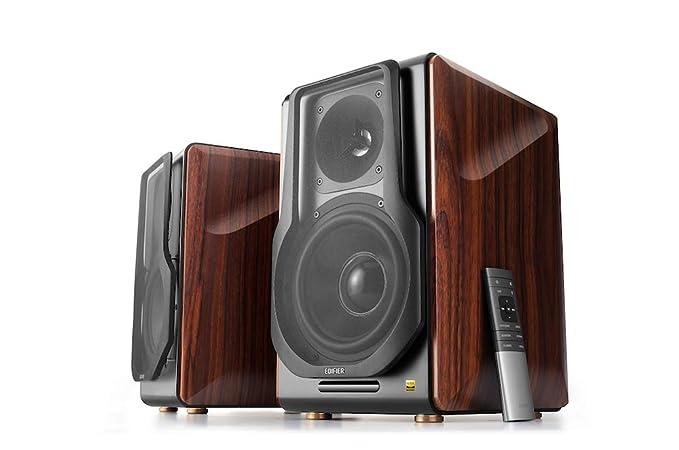 Edifier S3000Pro Audiophile Active Speakers - Bluetooth 5 0 aptX Wireless,  USB Audio, Planar Diaphragm Tweeters and 6 5