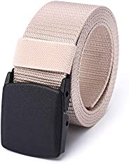 Mile High Life | Nylon Web Belt | Outdoor Military Belt | Cut to Fit up to 52"