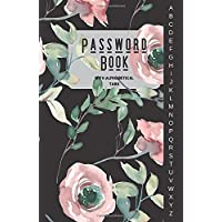 Password Book With Alphabetical Tabs: Internet Address & Password Organizer Logbook Small (110 Pages, 5.5 x 8.5 in)