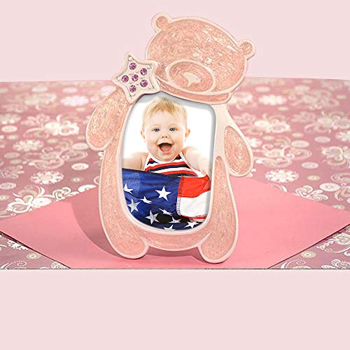 Baby's First Photo Frame, Bear Holds 2