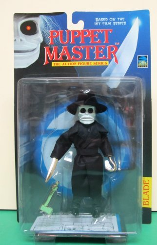Puppet Master Blade with Gold Chrome Hand Weapons Action Figure]()