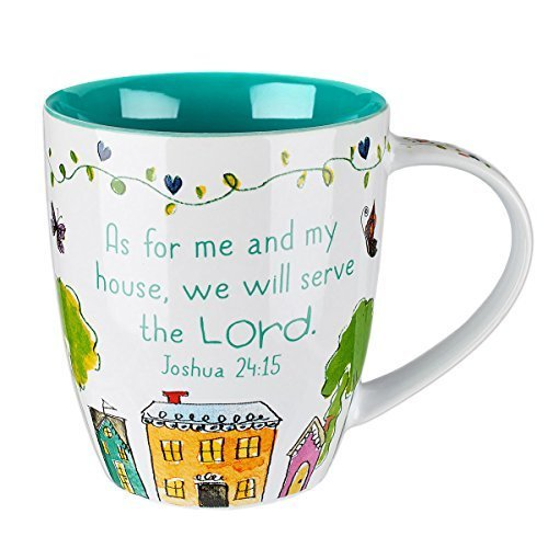 Everyday Blessings ''Bless Our Home'' Mug - Joshua 24:15 by Christian Art Gifts