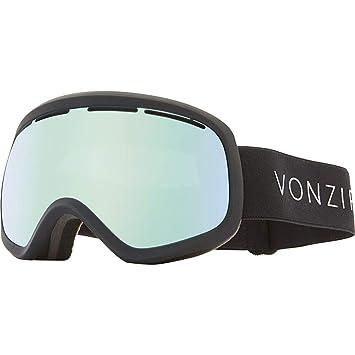 7fe4cf9966 Vonzipper Skylab Adult Snowmobile Goggles - Black Satin Wild Stellar Chrome One  Size