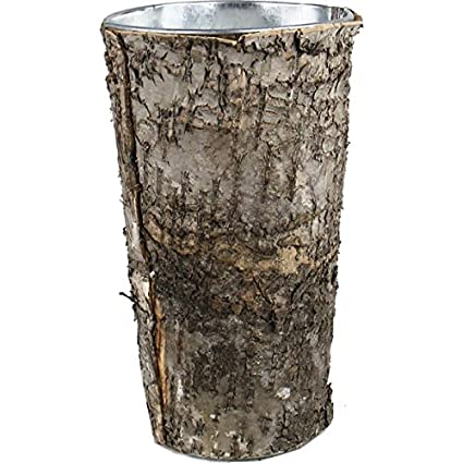 Amazon Modern Vase Gift Cylinder Vases Zinc Pot With Natural