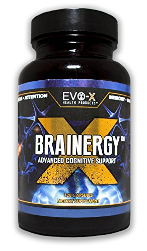 EVO-X Health Products Brainergy-X Supplement, 120 Capsules