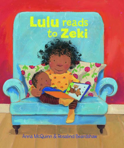Lulu Reads to Zeki