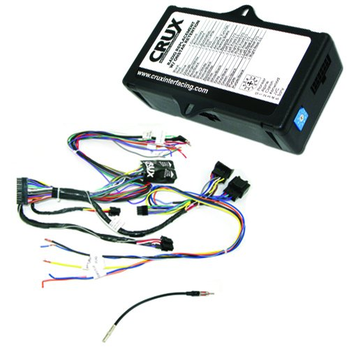 Crux SOOGM-16 Radio Replacement Interface to retain OnStar, Factory Warning Chime features and Steering Wheel Control functionality for select GM LAN 29-Bit vehicles with Bose Amplified & Non-Amplified Systems - Onstar System
