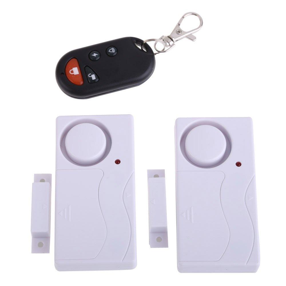 Vanpower Wireless Remote Control Home House Door Window Security Burglar Alarms