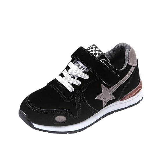 WINWINTOM Zapatos para Bebé, 2018 Unisex Niños Moda Zapatillas, Niños Bebé Deporte Corriendo Zapatos Estrella Malla Casual Zapatillas: Amazon.es: Ropa y ...