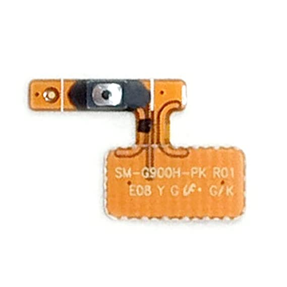 On Off Startup Power Button Flex Cable Ribbon Replacement Kit for Samsung  Galaxy S5 I9600 G900f G900f G900h G900k G900v G900a G900m G9001 G9008v