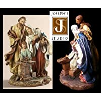 Holy Family Figurine - Carpenter Shop Statue - St Joseph's Studio