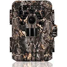 TEC.BEAN Trail Camera 12MP 1080P Full HD Game & Hunting Camera with 36pcs 940nm IR LEDs Night Vision up to 75ft/23m IP66 Waterproof 0.6s Trigger Speed for Wildlife Observation and Security