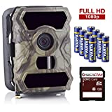 SecaCam HomeVista Full HD 100 Degree Wide-Angle Surveillance Camera | Trail Camera - Premium Pack