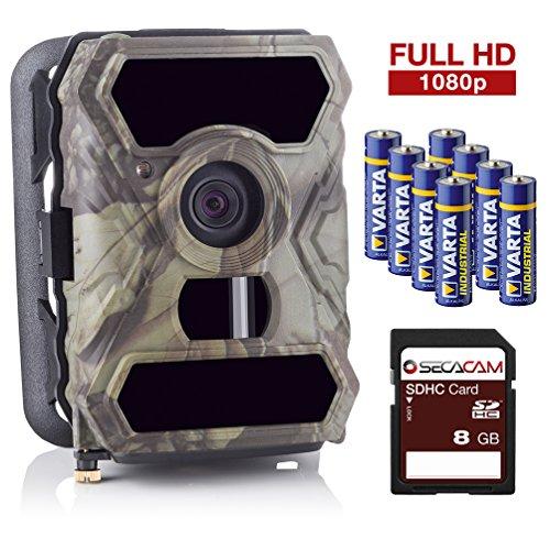 SecaCam HomeVista Full HD 100 Degree Wide-Angle Game and Trail Camera - Premium Pack