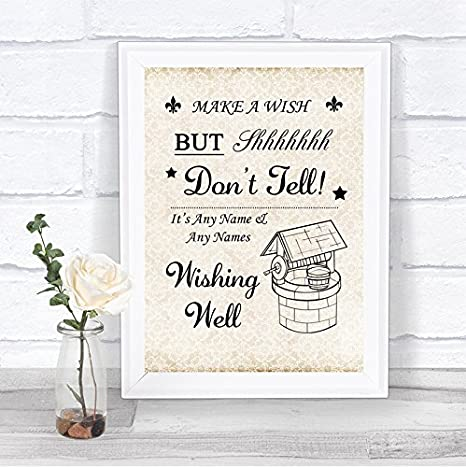 Wedding Wishing Well.Amazon Com Shabby Chic Wishing Well Personalized Wedding