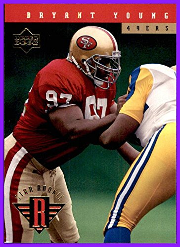 pretty nice ee44f 6774d 1994 Upper Deck #25 Bryant Young RC Rookie SAN FRANCISCO ...