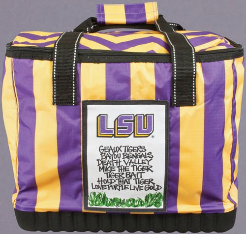 Magnolia Lane Collegiate Soft Sided Insulated Cooler (LSU Tigers)
