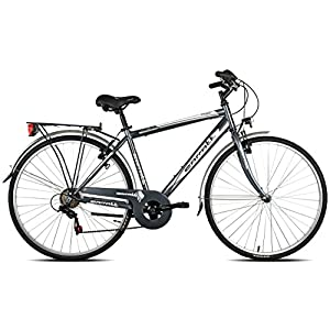 Carratt 480 TRK TZ50, City Bike Uomo, Grigio, 56