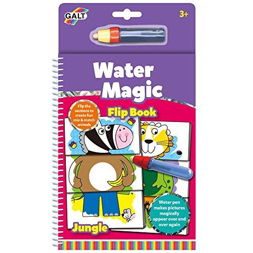 Galt Jungle (Galt Toys Jungle Water Magic Flip Book)
