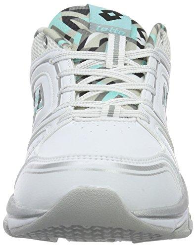 para Andromeda Wht Blanco W Zapatillas VIII Azul LTH Lotto Blu Mujer Tah de AMF Running B7x8qBwd