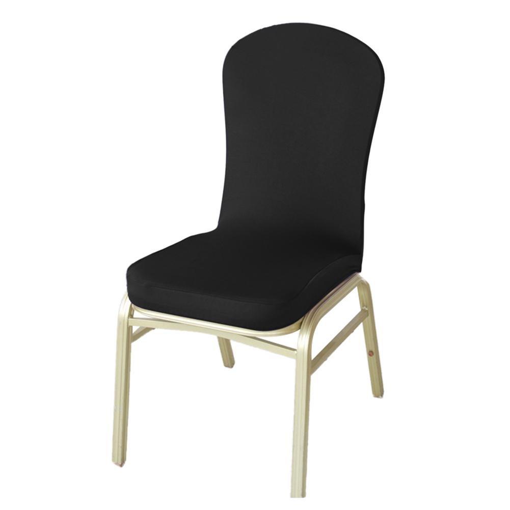 biback rivestimento sedia Coprisedia Stretch Sedia, Sedia Coprisedia Universale Stretch rivestimento sedia rivestimento matrimonio feste banchetto deko. Bi Elastic con angoli elasticizzati, molto facile da pulire e durevole universale champagne