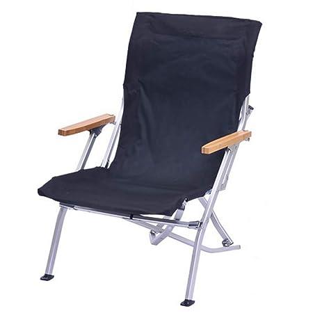 DPPAN Pieghevole Portatile Sedia da Campeggio, Comfort