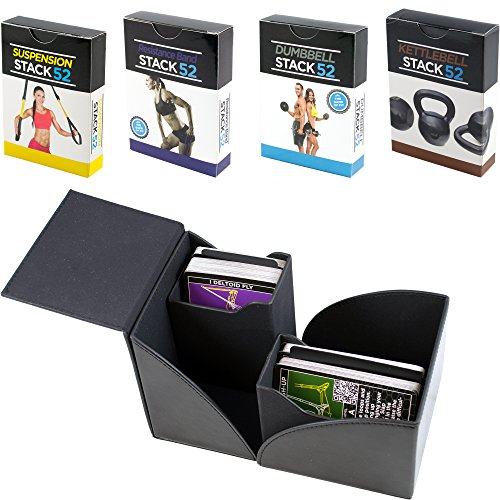 rd Gift Box Set. Dumbbell, Kettlebell, Resistance Band, and Suspension Workout Card Games. Video Instructions Included. Fun Home Gym Fitness Training Program. ()