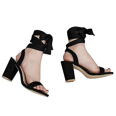 425318f2e1684 Amazon.com: Fainosmny Womens Platform Sandals Sexy High Heels ...