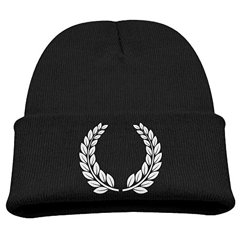 Kids Hats Hedging Laurel Wreath Winter Warm Classic Knitted Cap Soft Beanies for Toddlers Boys Girls