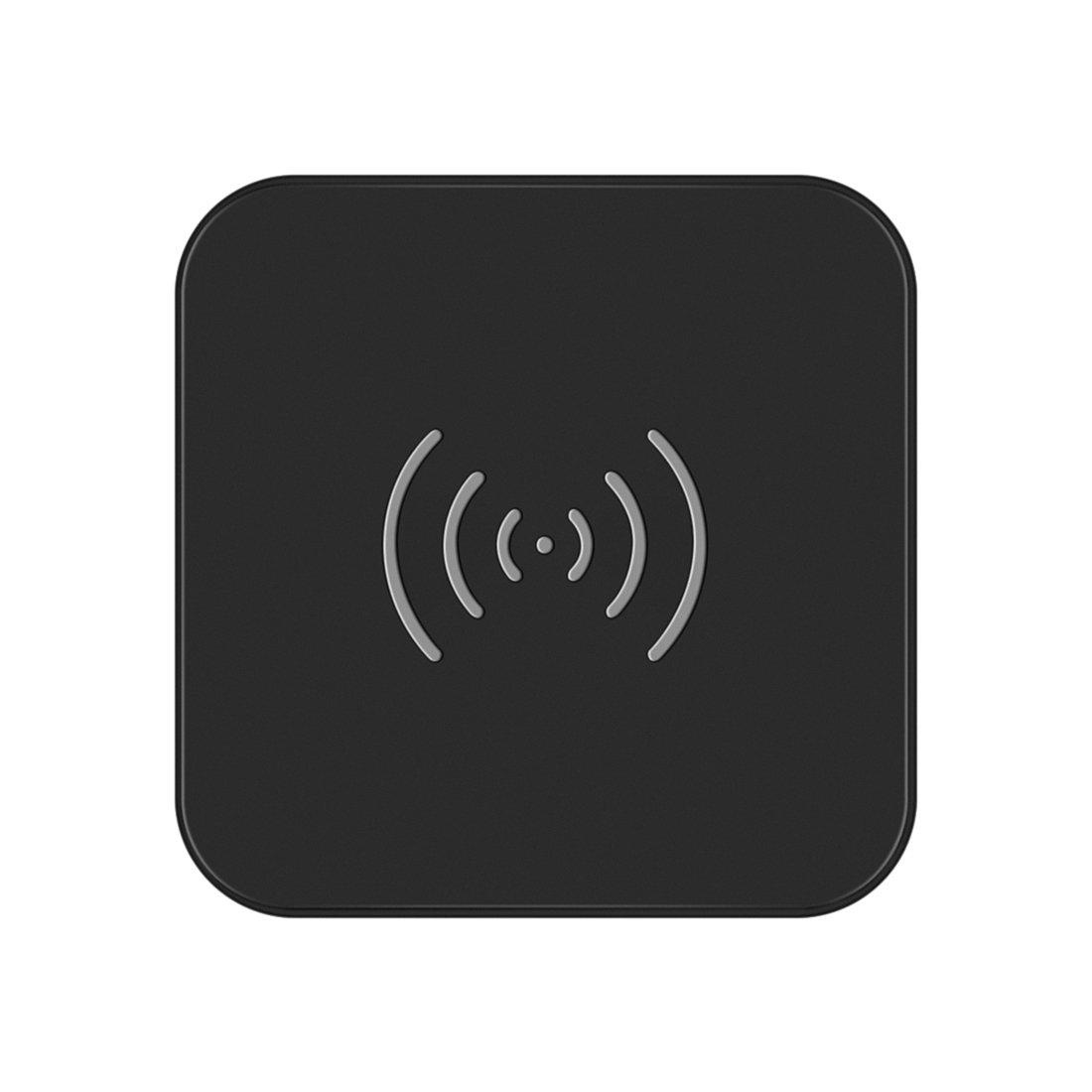 Caricatore Wireless, CHOETECH Caricabatterie Wireless Qi con Indicatore LED per iPhone 8/8Plus/X,Samsung S8/S8 Plus,Note 8,S7 Edge,S6/S6 Edge,Lumia 950 e Tutti i Dispositivi Qi-Enabled,Include un Cavo