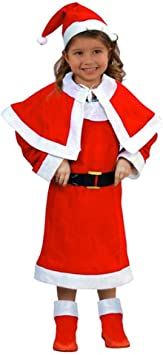 Atosa-69207 Disfraz Mamá Noel Niña Infantil, color rojo, 5 a 6 años ...