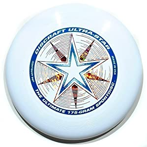 Discraft Ultrastar 175g Ultimate Frisbee Disc WEISS