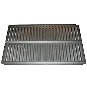 Music City Metals 99721 Stainless Steel Heat Plate Replacement for Select Ducane Gas Grill Models