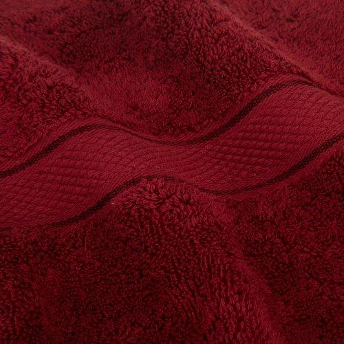 Pinzon Egyptian Cotton 725-Gram 6-Piece Towel Set, Cranberry