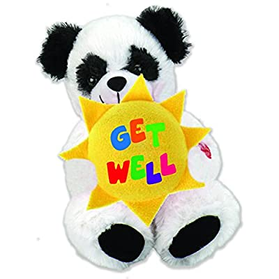 "Chantilly Lane Sunshine Panda Sings Tomorrow 10"" Plush: Toys & Games"