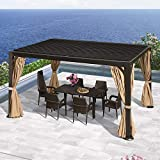 PURPLE LEAF Outdoor Louvered Pergola