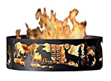 P&D Metal Works MG00738 Fire Ring, Moonlight Gathering