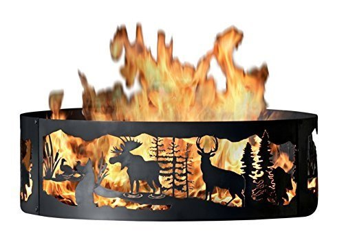 P&D Metal Works MG00738 Fire Ring, Moonlight Gathering by P&D Metal Works