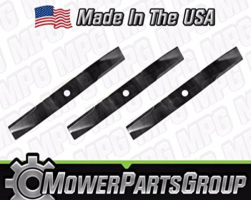 (3)Heavy Duty Kubota Mower Blades Fits 60